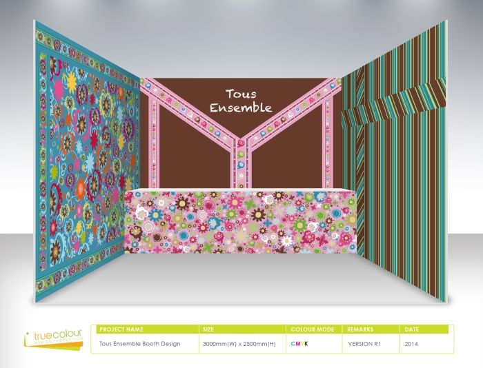true color - 平面设计 - 展览摊位设计